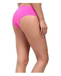 Under Armour | Pink Pure Stretch Sheer Cheeky | Lyst