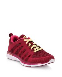 Athletic Propulsion Labs | Red Techloom Pro Mesh Trainers | Lyst