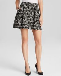 Alice + Olivia - Natural Alice + Olivia Skirt - Karlie High Waist Tweed - Lyst