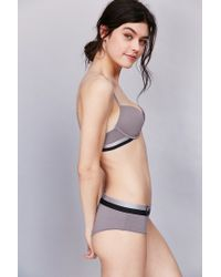 Calvin Klein - Gray Magnetic Force Push-up Bra - Lyst