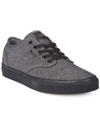 Vans | Black Atwood Sneakers for Men | Lyst