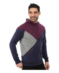 PUMA | Purple Cut Line Track Jacket for Men | Lyst
