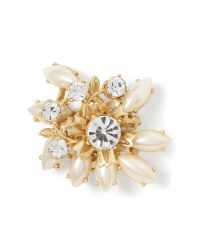 Banana Republic | Metallic Pearl Cluster Pin | Lyst