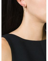 Bukkehave | Metallic Bar Earrings | Lyst
