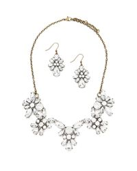 Forever 21 | Metallic Faux Gem Jewelry Set | Lyst