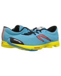 Newton Running - Yellow Distance Elite for Men - Lyst