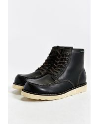 Eastland | Black Lumber Up Moc-toe Boot for Men | Lyst