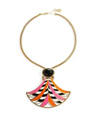 Trina Turk | Multicolor Statement Pendant Necklace | Lyst