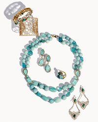 Alexis Bittar | Metallic Gilded Muse Dore Crystal-Studded Cuff Bracelet | Lyst