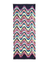 kate spade new york | Brighton Wave Scarf Multicolor | Lyst