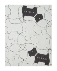 Radley | Gray In Stiches Scarf | Lyst