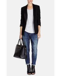 Karen Millen - Black Modern Tuxedo Jacket - Lyst