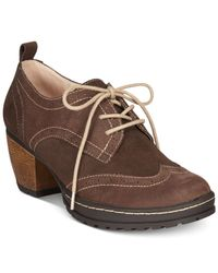 Jambu | Brown Women's San-fran Lace Up Shooties | Lyst