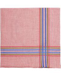 Simonnot Godard - Red Montmartre Handkerchief for Men - Lyst
