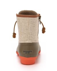 Sperry Top-Sider - Gray Saltwater Booties - Lyst
