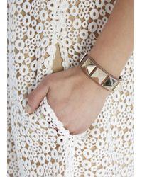 Valentino | Pink Rockstud Dark Rose Bracelet | Lyst