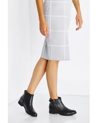 Urban Outfitters | Black Della Side Buckle Boot | Lyst