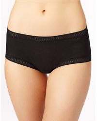 On Gossamer | Black Gossamer Mesh Boyshort | Lyst