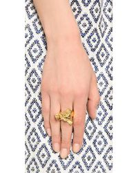 Tory Burch - Metallic Naomi Ring - Lyst