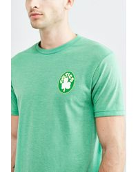 Urban Outfitters - Green Boston Celtics Vintage Logo Tee for Men - Lyst