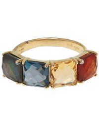 Ippolita | Metallic Gold Marrakesh Four Stone Square Ring | Lyst