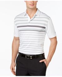 Under Armour | White Men's Coldblack® Victory Lap Golf Polo for Men | Lyst