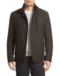 Sanyo | Green 'hill 28' Car Coat for Men | Lyst