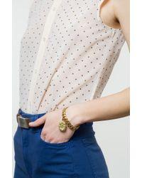 Lulu Frost | Metallic Victorian Plaza Charm Number Bracelet #1 | Lyst
