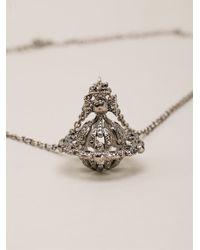 Vivienne Westwood | Metallic 'radha' Necklace | Lyst