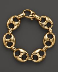 Gucci | Metallic Marina Chain Bracelet in 18k Yellow Gold | Lyst
