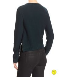 Banana Republic | Blue Factory Cable-knit Zipper Sweater | Lyst