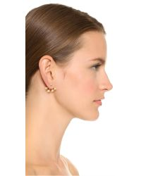 Venessa Arizaga | Metallic A Nice Day Earrings - Gold | Lyst