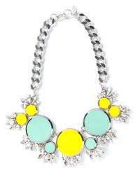 Anton Heunis | Metallic Embellished Crystal Necklace | Lyst