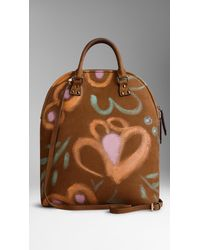 Burberry - Brown The Bloomsbury in Handpainted Nubuck - Lyst