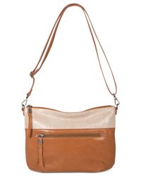 The Sak - Brown Oleta Leather Crossbody - Lyst