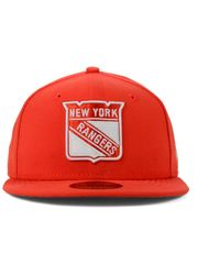 KTZ | Orange New York Rangers C-dub 59fifty Cap for Men | Lyst