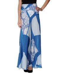 Emilio Pucci | Blue Long Skirt | Lyst