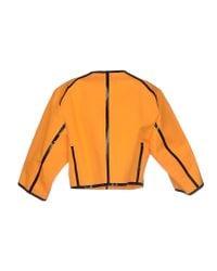 Michael Kors - Orange Blazer - Lyst