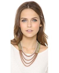 Venessa Arizaga - Metallic Sunset Necklace - Lyst