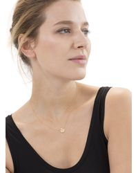 Baukjen | Metallic By Boe Delicate Circle Necklace | Lyst