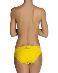 Adidas By Stella McCartney - Yellow Bikini Bottoms - Lyst