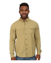 Under Armour - Natural Ua Iso-chill Flats Guide L/s Shirt for Men - Lyst
