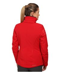 Spyder - Red Radiant Jacket - Lyst