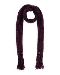 Virtus Palestre - Purple Oblong Scarf - Lyst