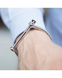 Miansai | Metallic Sterling Silver Screw Cuff for Men | Lyst
