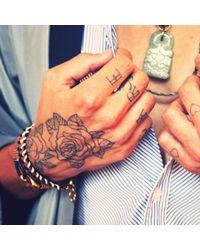 Lulu Frost - Natural G. Frost X Michael Bastian - Thin Dbl Strand Bracelet for Men - Lyst
