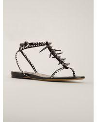 Tabitha Simmons - Black 'kela' Sandals - Lyst