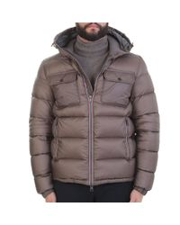 Moncler - Brown Demar Quilted Down Jacket for Men - Lyst