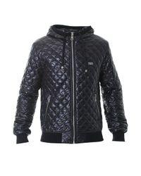 Dolce & Gabbana - Black Padded Nylon Jacket for Men - Lyst