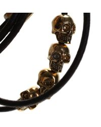 Alexander McQueen | Dark Brown Bracelet | Lyst